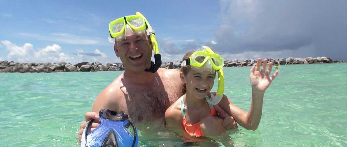 Family Snorkeling in Destin, FL